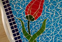 mozaik tepsi