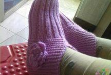Носки и тапочки