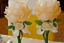 copas decoradas para 15 años y bodas