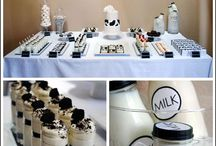 Milk & Cookies Theme Party