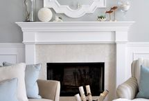 Dream Home ~ Fireplace / by Susie Fairbanks