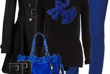 Outfit con jeans azul cobalto / Tenidas que se arman con jeans color azul rey