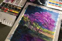 I wanna paint landscapes