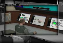 3D Renderings of Mining Remote Control Room / 3D Renderings of Mining Remote Control Room