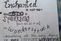 Lyrics / Favorite part of a song  / by Meggie Arevalo