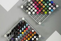 Nail Polish Storage / by Crystal