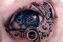 Татуировки в форме глаза