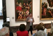 #Raccontamibrera - Gaudenzio Ferrari, Natività della Vergine / Emanuela ci ha raccontato e ci racconterà della sua storia in relazione al dipinto di Gaudenzio Ferrari, Natività della Vergine.