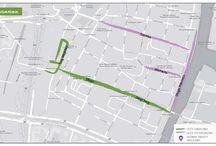 """Ulice handlowe / Jakie są najpopularniejsze ulice handlowe w polskich miastach, wg raportu PRCH, BNP Paribas Real Estate """"Ulice handlowe - analiza, strategia, potencjał""""?"""
