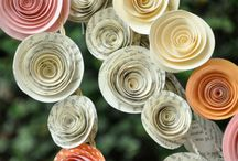 fleurs papiers