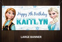 Frozen Party Designs