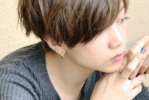 髪型ショート