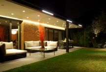 Relax at the porch. Outdoor lighting project, Barcelona / Lighting project for a porch in a family home in Barcelona