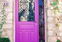 Exterior doors / Двери в экстерьере