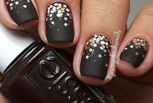 Mattes Nageldesign