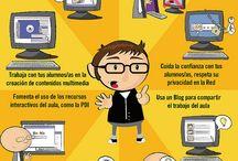 [Infografías] Seguridad en Internet para menores (Las TIC en el Aula)