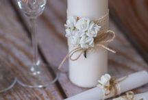Copos de Casamento decorados