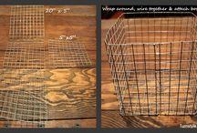 Wire & basket