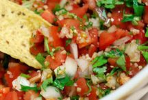 Dips and salsa / by Sarah Todd-Fox