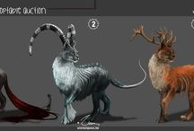 Own adoptables / Auction or buy of own creature design or live props.