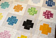 Quilt Ideas - Cross / Plus Quilts / Love me some Cross and Plus Quilts