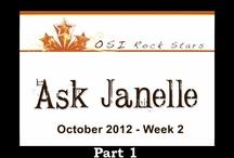 Ask Janelle October 2012