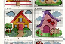 sweet home cross stitch