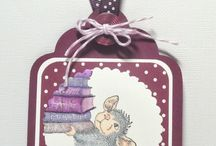 House Mouse / Creations with House Mouse, & Gruffies stamps