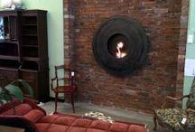 dekorative Wohnträume / dekorative Innenraumgestaltung aus historischen Baustoffen, Dekoideen