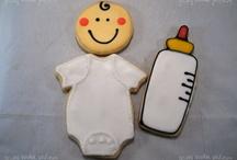 Baby Theme Sugar Cookies / Favors