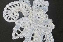 Crochet Irish lace / virka irländskt