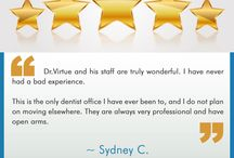 Patient testimonials / Take a look at what our patients have to say about us