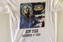 "Dolce & Gabbana Rare Collectors t-shirt Madonna NY Tour 2000 Limited Edition / Dolce & Gabbana Rare Collectors t-shirt Madonna New York Tour 5 november 2000 Roseland Ballroom ""Don't Tell me"" promo tour Very Limited Edition Print and high quality stones & studs excellent conditions 100% Cotton Size 52 on ebay!!!"