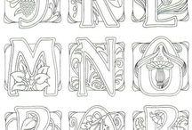 Typografie-ilustrace
