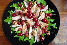 Sałatki i dania wege. / Wszystkie przepisy na sałatki i dania wegetariańskie jakie zgromadziłam na moim blogu: sezonnasmak.blog.pl