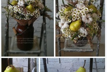 Ripe pear bouquet