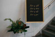 Weddings: Signage & Escort Displays
