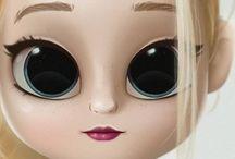 Moças com olhos de gato