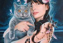 Artist Edith Lebeau