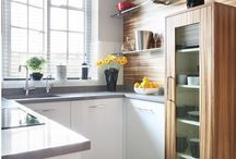 compact kitchens / Big ideas for the smallest of spaces