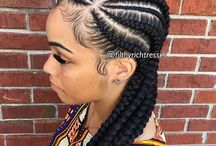 Braids, Twists, & Natural / Different hair styles