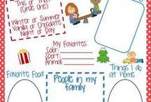School activity ideas
