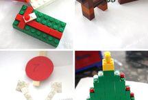 Lego ornaments for Xmas