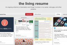 Dynamic resume ideas and resources