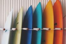 Surfboard stacking