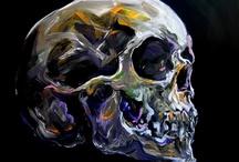Rysunki czaszek