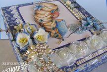 Sami Stamps Cards by Julie Gleeson