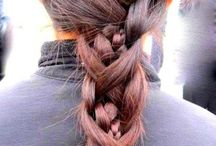 włosy - warkocz