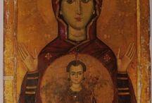 Madre di Dio Orante / Madre di Dio Platitera, Panagia, del Segno, Nicopeia,