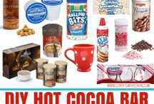Pour me a hot one! / Everything you need for a hot chocolate bar!